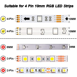 4 pin led connector