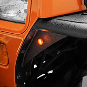 Amber Turn Signal for Jeep YJ Fender Flare