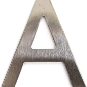 stalen letter