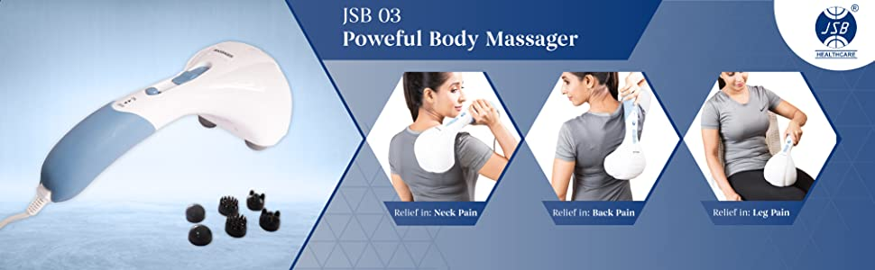 jsb 03 powerful body massager for cervical pain relief