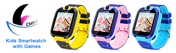 children smartwatch kids game watch watches games pink camera  inch touch screen cameras boys girls