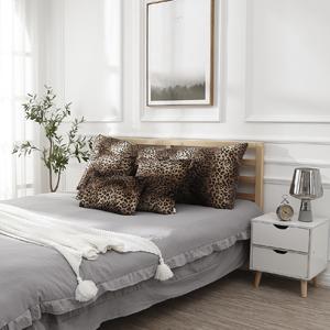 Soft Plush Leopard Print Faux Fur Decorative Throw Pillow Covers