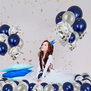 blue birthday decoration for women