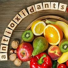 Health anti-aging young look healthy natural vitamin antioxidant