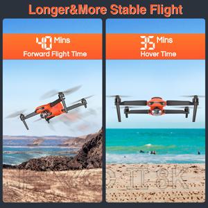 Autel Robotics EVO 2 8K Compact Folding Drone 40 Minutes Flight 35 Minutes Hover Time