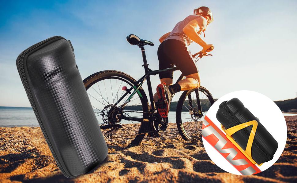Bolsa de Almacenamiento de Herramientas de Reparación para Bicicleta - Bolsa Impermeable en Portabidones: Amazon.es: Deportes y aire libre
