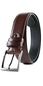 handmade leather belt brown dress