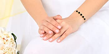 5 Stone Bolo Bracelet