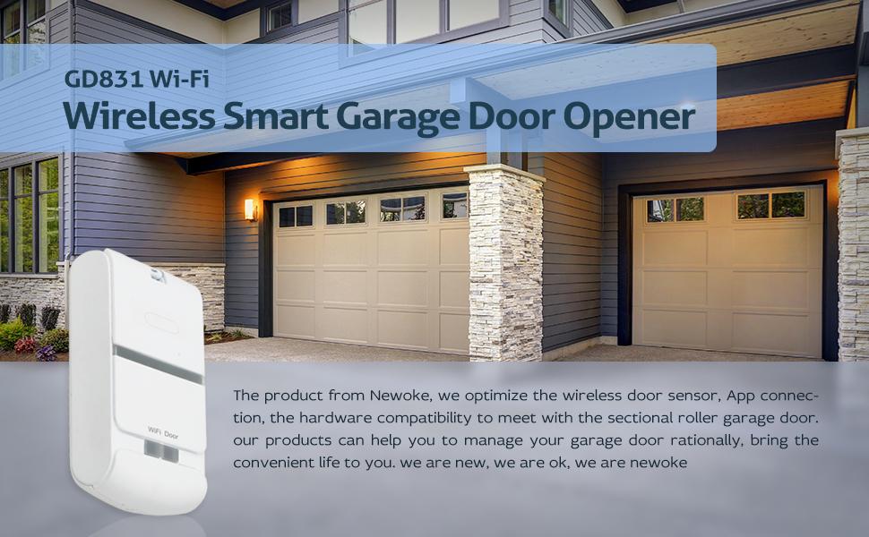 wireless smart garage door opener