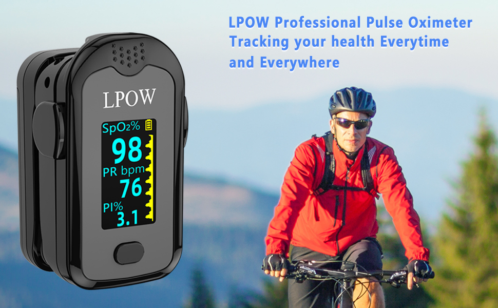 banner  Pulse Oximeter Fingertip, Blood Oxygen Saturation Monitor for Pulse Rate, Heart Rate Monitor and SpO2 Levels with LED Screen Display Batteries and Lanyard Included 6f798296 87ec 4046 a976 63ea7f747990