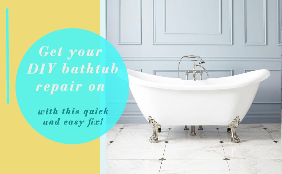 tub bathtub repair restore renew fiberglass tile shower Porcelain Ceramic Acrylic Stone Crack Scrap