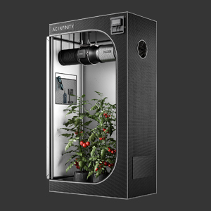 AC Infinity CLOUDLAB Advance Grow Tent 2000D Mylar Canvas Controller Mount Hydroponic Indoor Growing