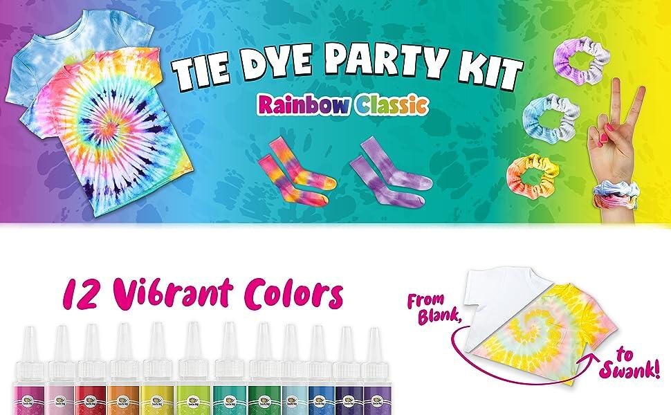 tye die kits, tie dye kids kit
