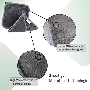 2 zijden microvezeltechnologie