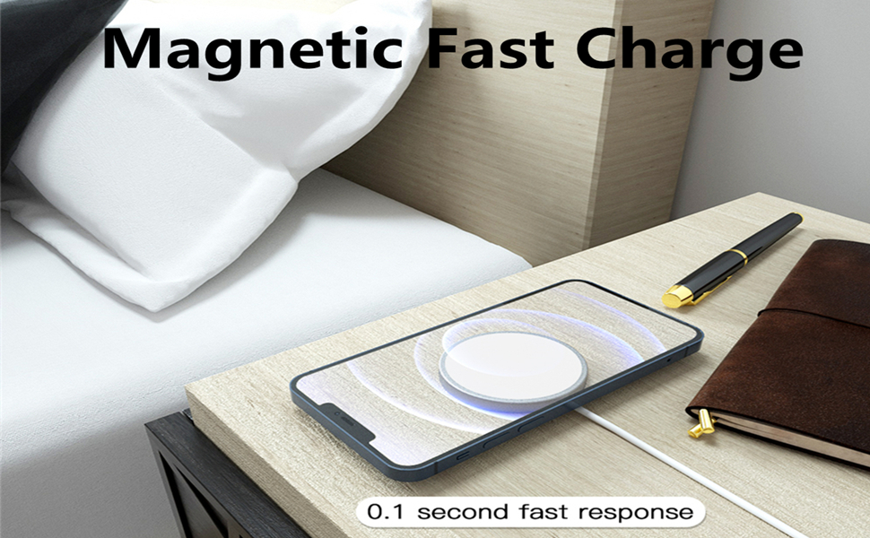 Apple MagSafe Charger Fast Qi Wireless Charger Pad