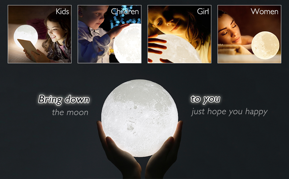 moon gift for baby women