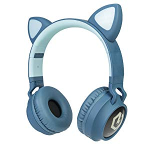 kids headphones bluetooth over ear wireless headphones for children for mp3 mp4 ipad iphone phone tv