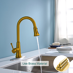 kitchen touch faucets oil brushed bronze