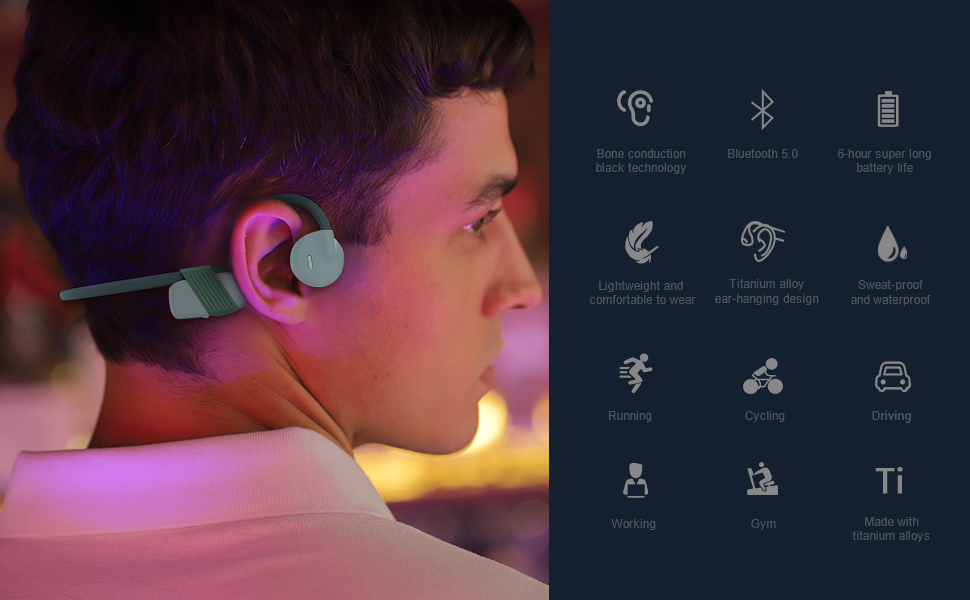 Features of IFECCO Wireless Headset