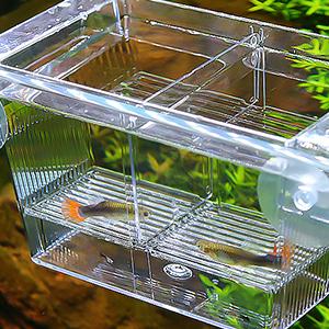 Fish Tank Hatchery Incubator Breeding Box