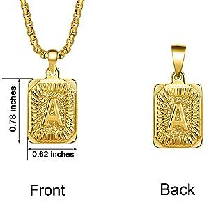 a-z necklace for boy