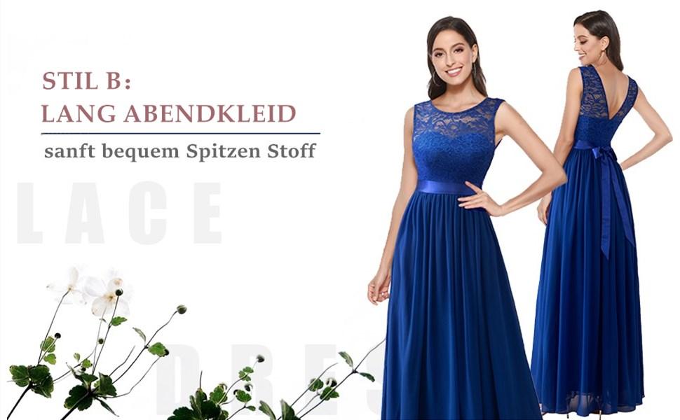 elegant Abendkleid damen