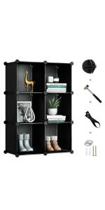 Cubes Storage Organizer
