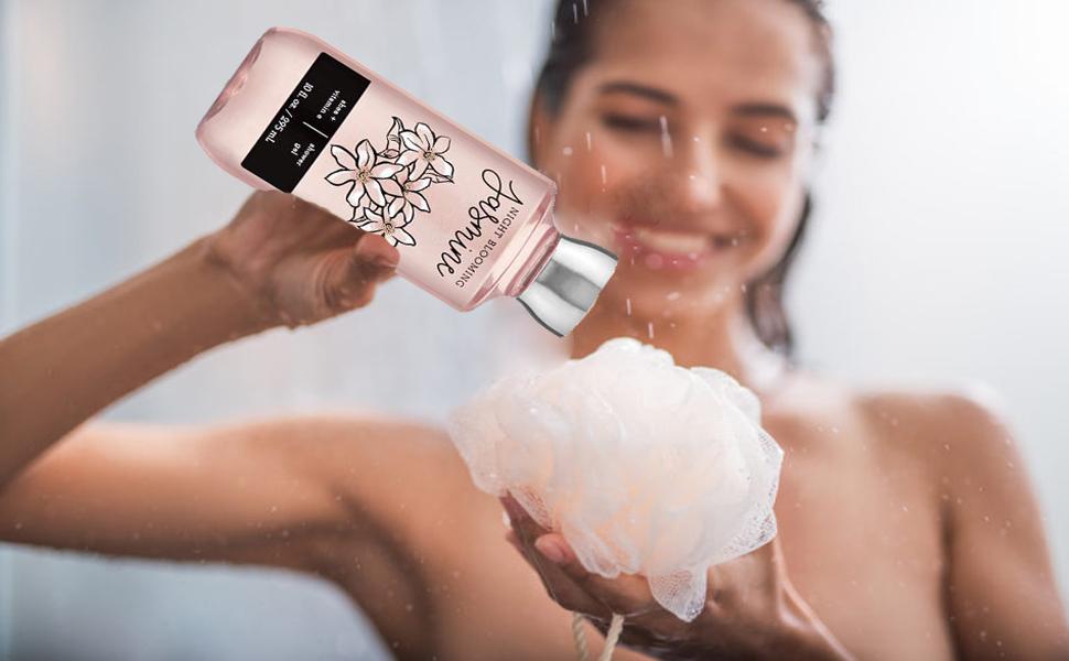 shower gel, women, shower, easy spa