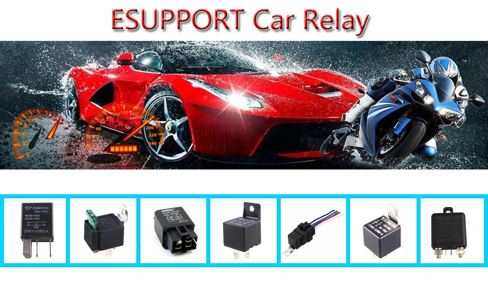 Amazon Com  Esupport Car Heavy Duty Relay Switch 12v 30a