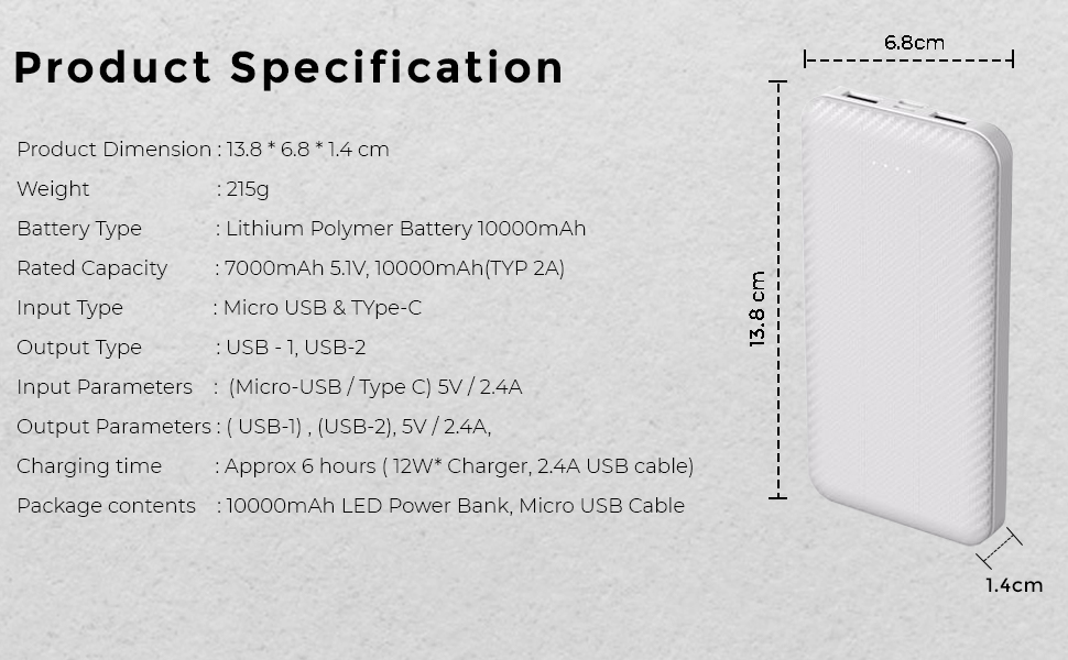 LCARE Power Bank