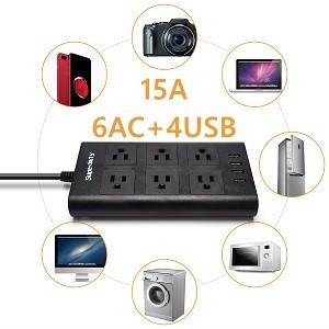 surge suppressor USB