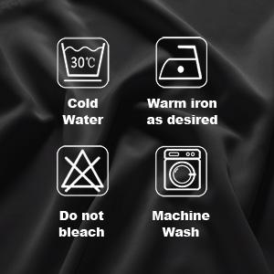 machine wash curtains