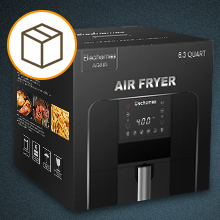 6f9db4dd fd0a 40f4 8fd3 908f5506141f.  CR0,0,220,220 PT0 SX220 V1    - 40% off coupon code for Elechomes AG61B Air Fryer , Max XL 6.3 Quart Oilless Electric Oven with Free 120 Recipes Book , Double Fan Design for Rapid Evenly Heating