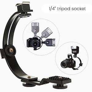 dslr flash mount accessories