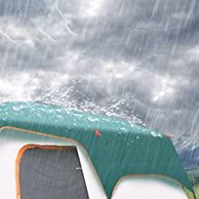 rain fly for tent weatherproof tent windproof tent waterproof camping gear double layer tent