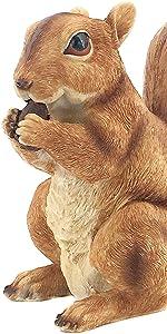 squirrel statues and figurines squirrel statues for outdoor squirrel statues for garden squirrel