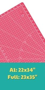 large cutting mats for sewing