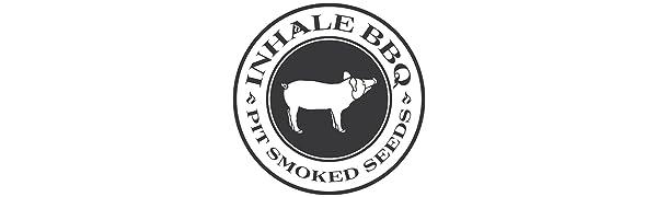 inhale bbq logo