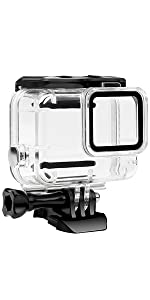Hero 7 White & Silver Waterproof Case