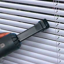 MHM's Mini Vacuum on Blinds