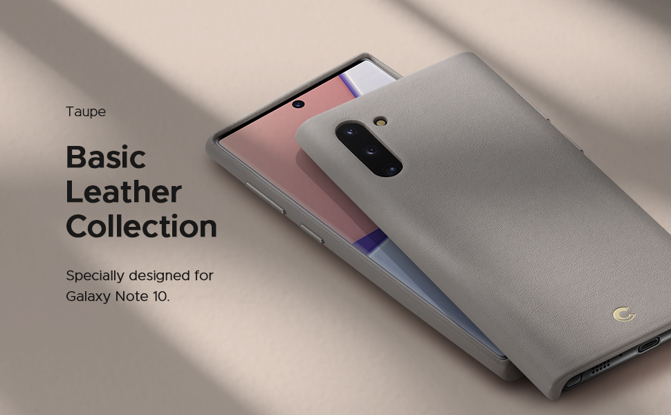 Basic Leather for Galaxy Note 10