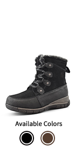 Women's Wool-Lined Cold Weather Boots Maya
