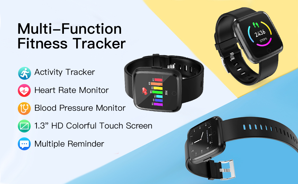 multi-function fitness tracker