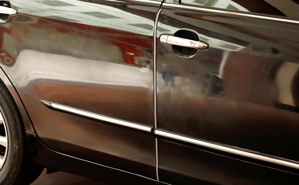 Full Size 5 Feet Clear U Shape Car Door Edge Guard Trim