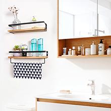 Floating Shelves Bathroom