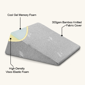 the structure of the pillow