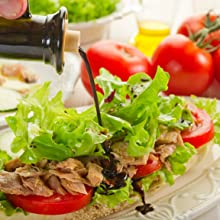 Balsamic over Fresh Salad