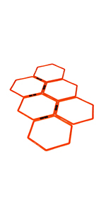 EFITMENT A009 Hex Rings