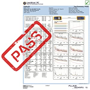 PASS FLUKE TESTED