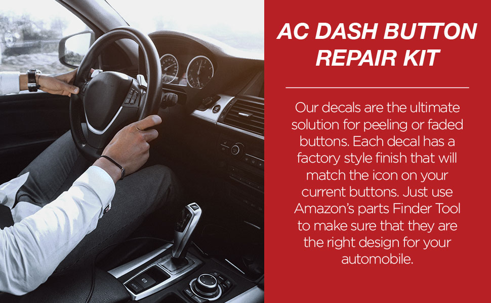 AC Dash Button Repair Kit